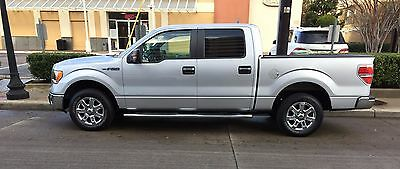 2013 Ford F-150 XLT Series 2013 Ford F-150 XLT Series - Silver