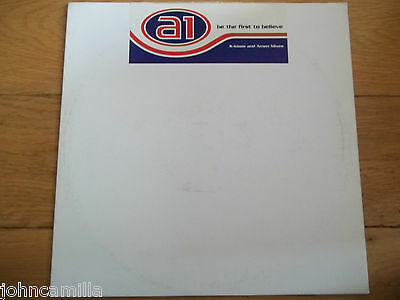 """A1 - Be The First To Believe 12"""" Record / Vinyl - Columbia - Xpr 2485"""