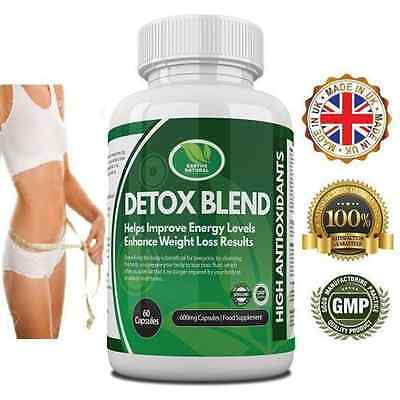 Z Detox Body Cleanse Slimming Diet Probiotic Blend Pills - ALL IN ONE - High