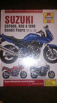 Suzuki Bandit 600 1200 650 Haynes Manual
