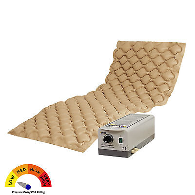 Clearance - Pressure Relief Bubble Cell Therapy Mattress Pad System with Pump
