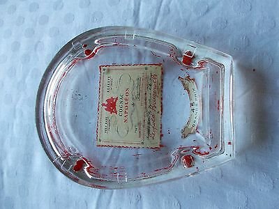 French vintage advertising shop / bar change tray