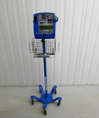GE Critikon Dinamap Monitor Stand Rolling Stand Trolley for Dinamap Monitors