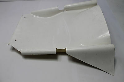 Speedway Outlaw Clean Air Nose - White - Damaged