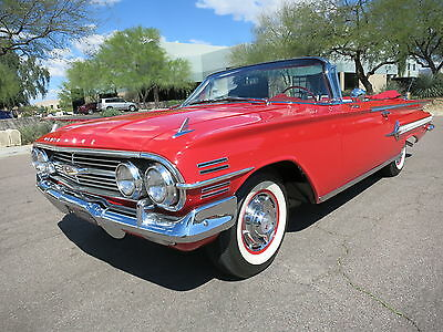 1960 Chevrolet Impala Convertible 348ci 335hp Tri Power 4spd Fully Restored #s Match #1 Car 1958 1959 1961 1962