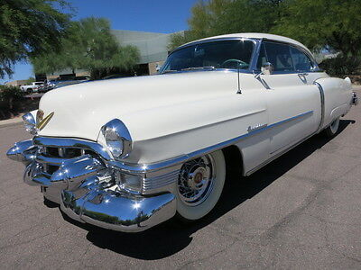 1953 Cadillac DeVille Coupe A/C Power Windows Power Seat Loaded Very Original Car Beautiful 1954 1955 1952