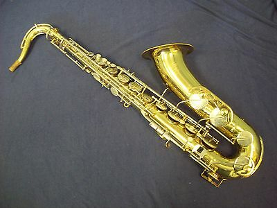 Quality! Vintage Armstrong Tenor Saxophone Made In Usa + Case