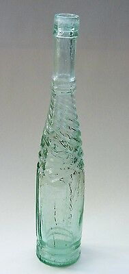 Antique Edward Pink and sons glass pepper sauce bottle