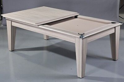 Supreme Classic Pool Dinning Table - 6ft   Driftwood