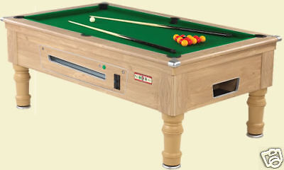6Ft Supreme Prince Pool Snooker Table  Slate Bed Free Play Delivered