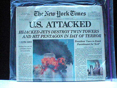 The New York Times-September 12, 2001-Late Edition-Wtc-