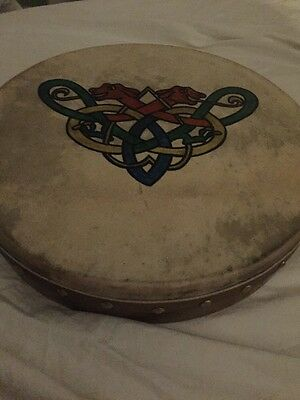 Malachy Kearns 12 Inch Bodhran Drum From House Clearance
