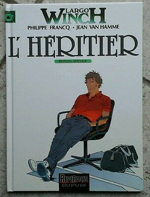 BD THRILLERS / ACTION  : LARGO WINCH TOME 1 (édition special) L'HÉRITIER