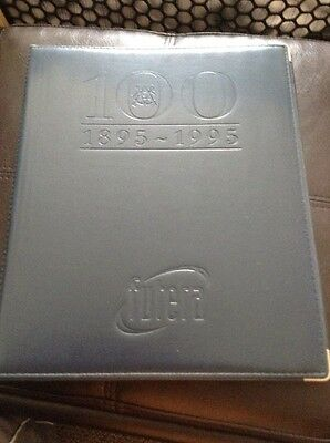 Futera 100 Years Cricket Limited Edition In Official Binder