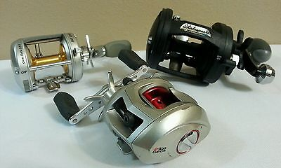Lots of 3 Fishing reels Abu garcia and shakespeares