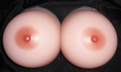 HUGE Size 16 Silicone Breast Forms/Mastectomy Bra Inserts-Model 18FR