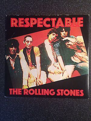 """The Rolling Stones - Respectable - UK 7"""" Single - Rock"""
