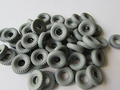 48 New Dinky 20Mm Grey Replacement Tyres-Special Offer  Ee
