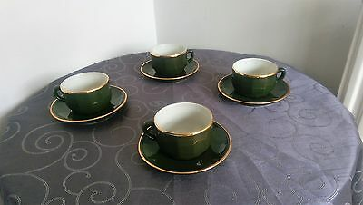 Apilco Cups And Saucers
