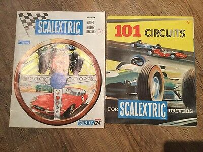 Vintage Scalextric Catalogues 9th Edition Ans 101 Circuits