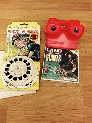 viewmaster plus reels including 1968  land of the giants