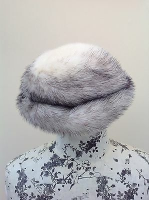 Vintage Arctic Fox Real Fur Child's Hat Harrods