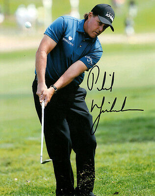 Phil Mickelson (USA) Golf Major US Masters Sieger original signiert/signed !!!