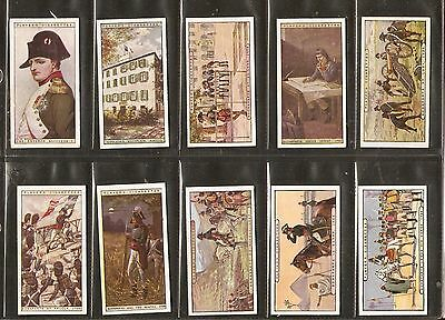 John Player & sons- Napoleon (1916) Full set of 25 cards