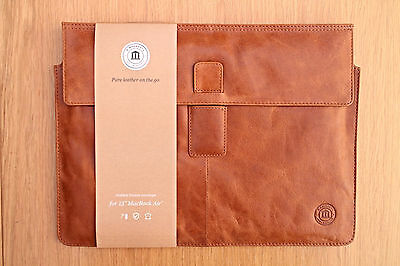 "Dbramante 1928  Leather Case Macbook Air 13"" Golden Tan"