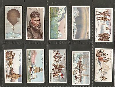 John Player & sons- Polar Exploration 2nd Series (1916) Full set of 25 cards