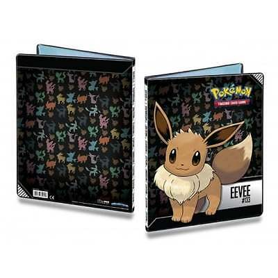 ULTRA PRO POKEMON EEVEE 9-Pocket Portfolio Card Album Folder A4 Hold 180 Cards