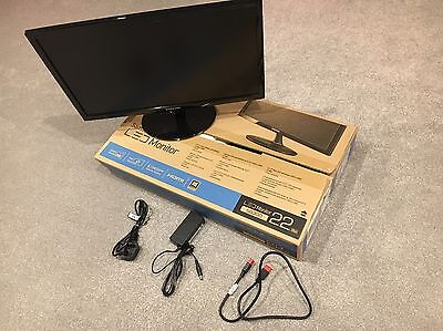 """Samsung  SD300 Series S22D300HY 22""""  Widescreen LED Monitor"""