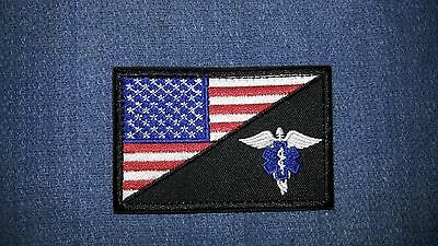 American Flag EMS Patch