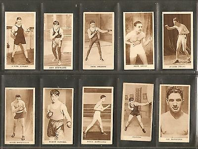 Godfrey Phillips- Sporting Champions (1909) 10 Cards from the set