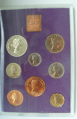 1970 Proof Set of coinage of Great Britain & Northern Ireland with overfolder