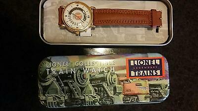 Lionel Collectible Train Watch with sounds Brand New Batteries Great Condition