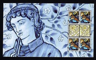 GB.2011. DY1. 3186ab. 150th ANNIVERSARY OF MORRIS & CO PRESTIGE BOOKLET PANE.MNH