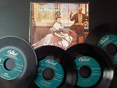 THE KING AND I (45rpm BOXED SET)