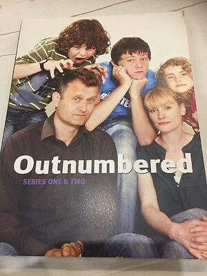 Outnumbered - Series 1-2 - Complete (Sealed 3-Disc Set, Box Set)