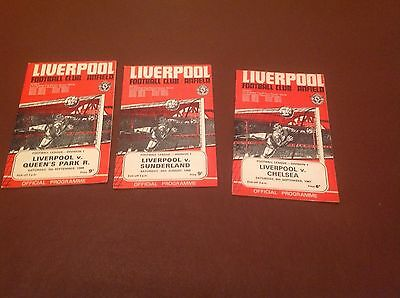 Liverpool Home Programmes
