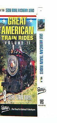 Great American Train Rides - Volume 2 (VHS) Pentrex