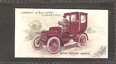 Lambert & Butler- Motors (1908) No.6