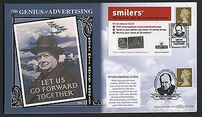 Sir Winston Churchill 2005 Genius of Advertising Cover - AC110