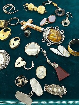 large jewellery lot antique and vintage