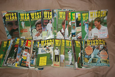Wisden Monthly Magazines -Job Lot with First Edition