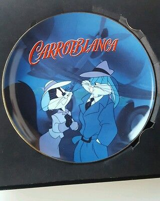 Warner Bros Carrotblanca 1996 Collector Plate Limited Edition #761