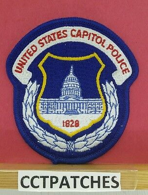 United States Capitol Police Washington Dc District Of Columbia Shoulder Patch