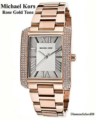 Michael Kors mk3255 Emery White Dial Rose Gold-tone Stainless Steel Ladies Watch