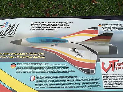Phase 3 Squall 4S EDF Jet Lipo Ducted Fan Rc Electric Aircraft Brushless Ripmax