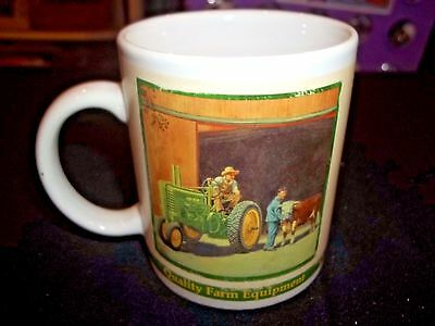 JOHN DEERE Coffee Cup Mug Collector Series 2005 Quality Farm Equipment Moline IL